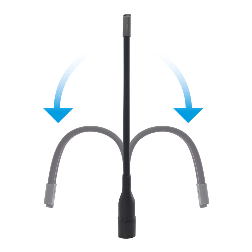 Flexi Crevice Tool Function