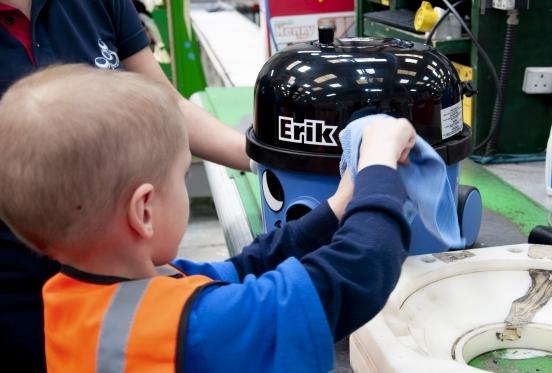 Erik's Make-a-Wish Visit